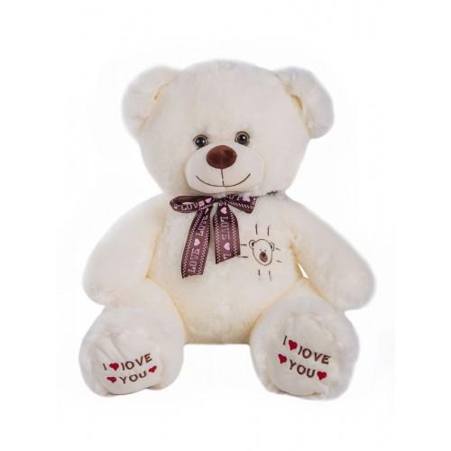 Медведь Mars белый 110 см