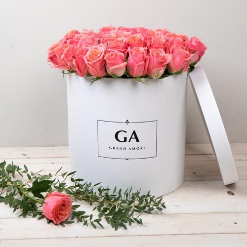 Цветы в коробке Daisy