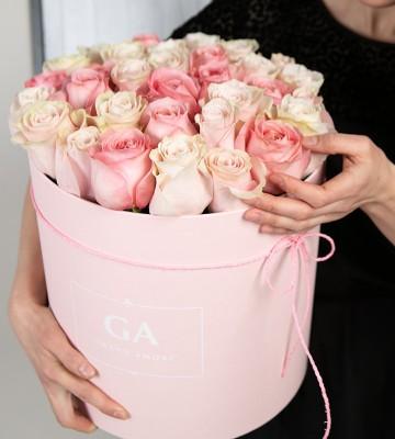 Цветы в коробке Georgia