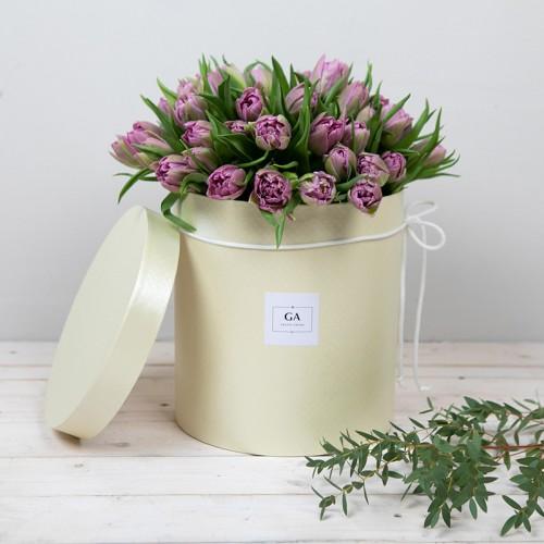 Цветы в коробке Violet