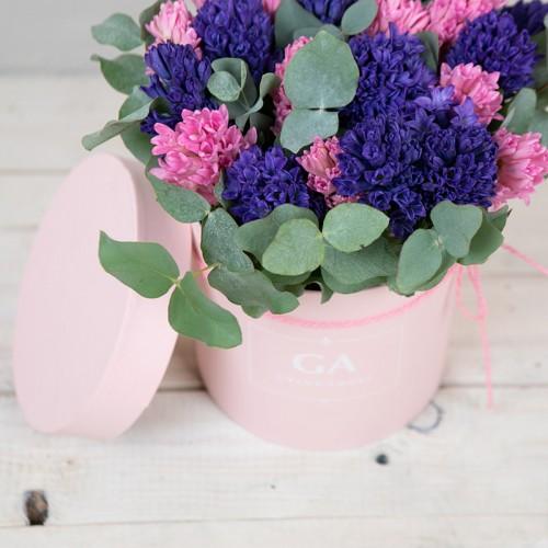 Цветы в коробке Summer