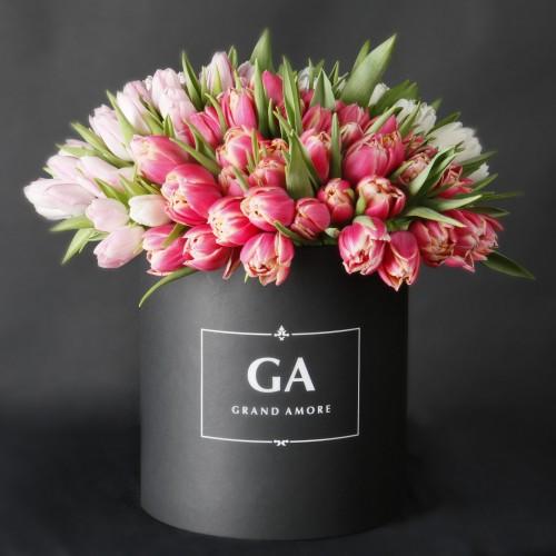 Тюльпаны в коробке Sola