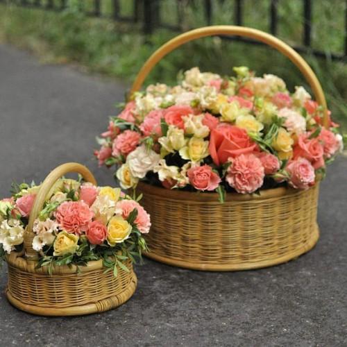 Корзины цветов Tiffany