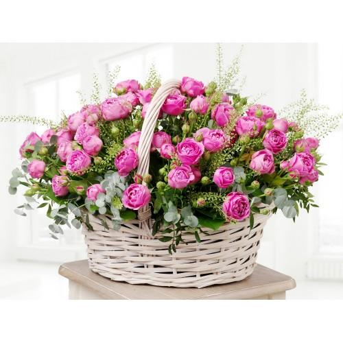 Корзина цветов Beatrice