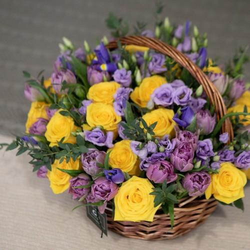Корзина цветов Kelly