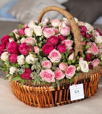 Корзина цветов Mon Amur