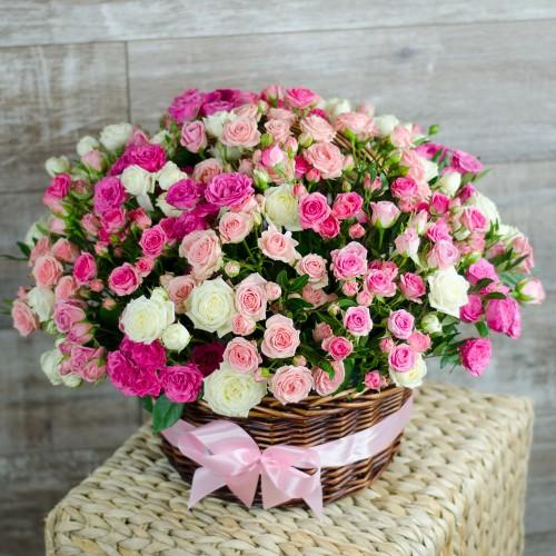 Корзина цветов Kamilla