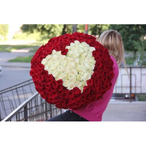 Розы RED HEART 201 роза
